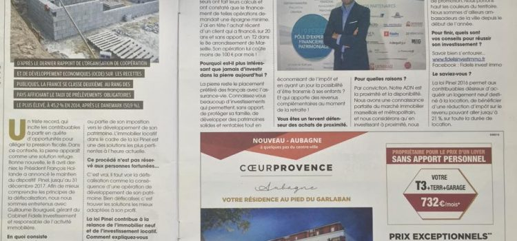 L'immobilier by la Provence